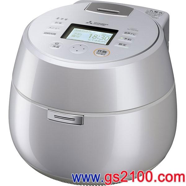 三菱電機 炊飯器 本炭釜 KAMADO NJ-AW108-B [黒 …